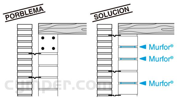 Murfor - Armadura de refuerzo para fábrica de bloques - Imagen 18