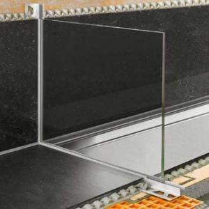 DECO-SG - Perfil portador de mamparas para duchas de obra