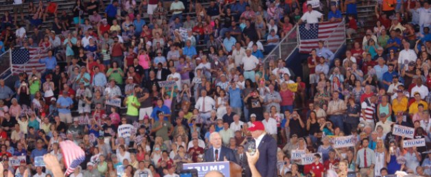 TRUMP crowd, Mobile AL