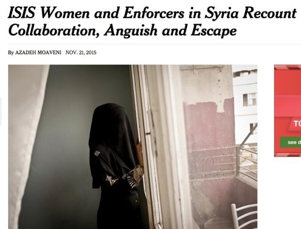 ISIS Women NYT