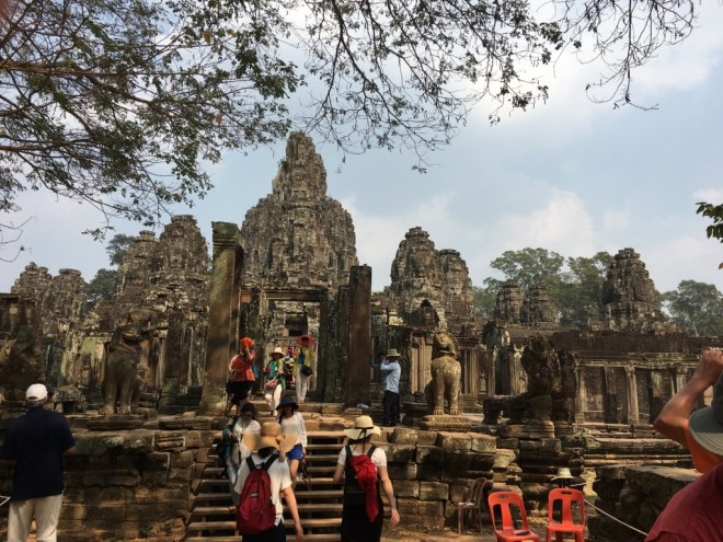 Bayon Temple wide