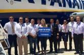 Ryan Air Celebrates carrying 2m customers at Paphos Airport