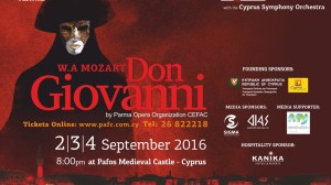 Don Giovanni - 18th Pafos Aphrodite Festival