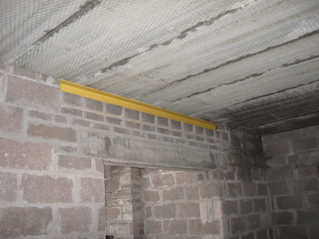 Structural Support To Precast Concrete Slabs.