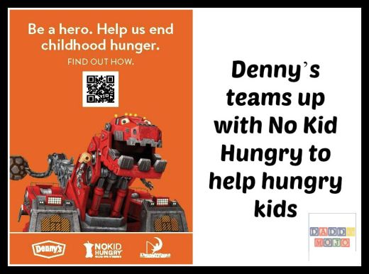 Denny's teams up with No Kid Hungry to help hungry kids