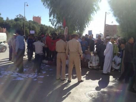 أسعار الماء تشعل نار الاحتجاج في مدينة الرشيدية