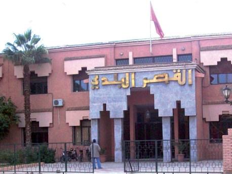 قاضي التحقيق يقرر إغلاق الحدود في وجه  رئيس المجلس الإقليمي لمدينة ورزازات