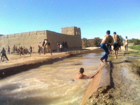 غرق تلميذ في واد زيز بالرشيدية