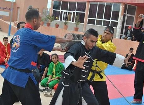 تدريب وطني في إستخدام الطاقة الداخلية للدفاع عن النفس ببومالن دادس