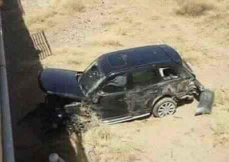 والد يوسف العربي يتعرض لحادث خطير بين ورزازات و قلعة مكونة
