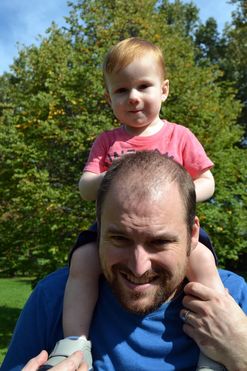 Dads in the Limelight -  Jeremy Harbottle of the Serious Dad Issues Blog