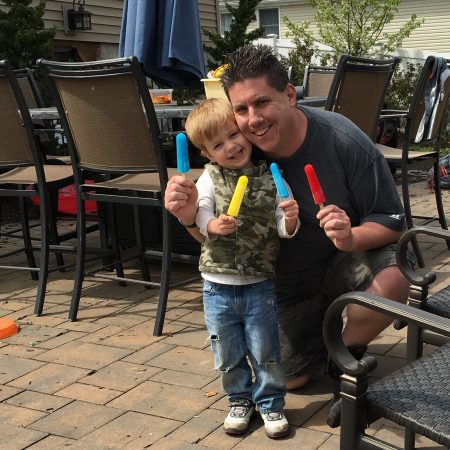 Danny McAleese is the 658th Dad being spotlighted in the Dads in the Limelight series on the Dad of Divas blog!