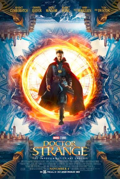 In celebration of the cast's appearance at San Diego Comic-Con, a brand new trailer and poster from Marvel's DOCTOR STRANGE are now available.