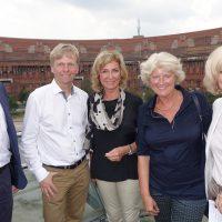 Besuch des Kindertheaters Pfütze und des Reichsparteitagsgeländes in Nürnberg durch Kulturstaatsministerin Prof. Dr. Monika Grütters mit Dagmar G. Wöhrl.