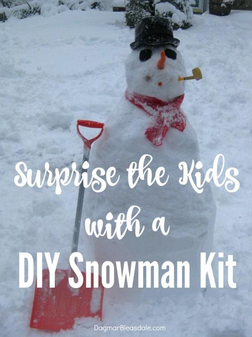 diy snowman kit. DagmarBleasdale.com