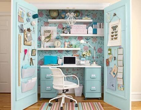 creative home office ideas. DagmarBleasdale.com