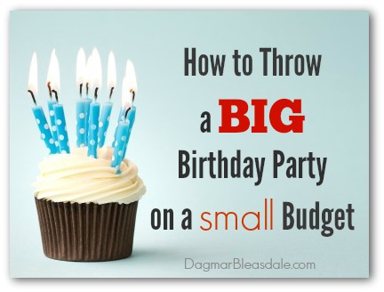 50th birthday party on small budget