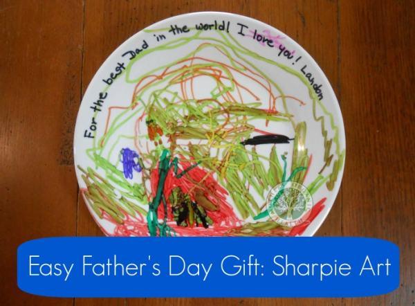 DIY Sharpie art, DagmarBleasdale.com, Father's Day gift