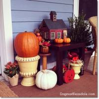 Dagmar's Home: DIY fall decor on porch