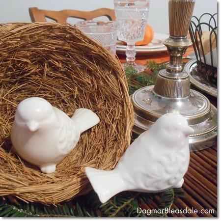ceramic birds salt and pepper shaker