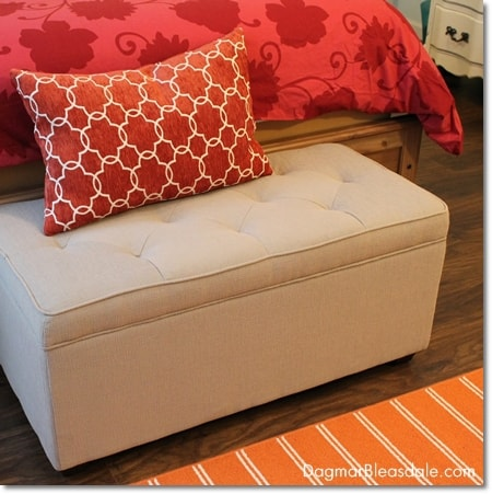 ottoman at end of bed
