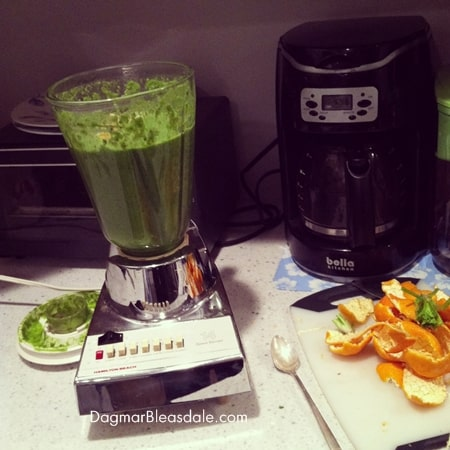 green smoothie for winter cleanse