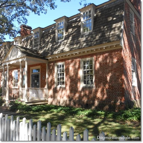 Colonial Williamsburg house