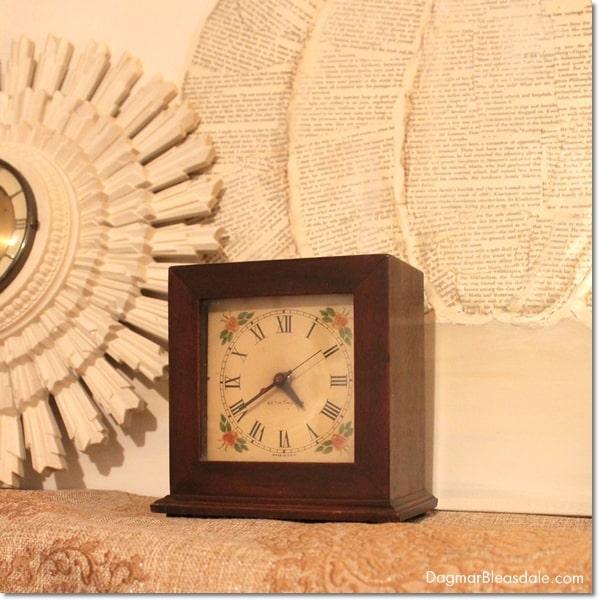 vintage finds - vintage Seth Thomas alarm clock