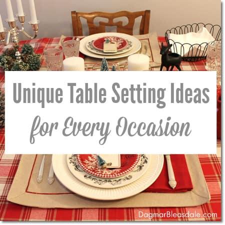 eBay table setting