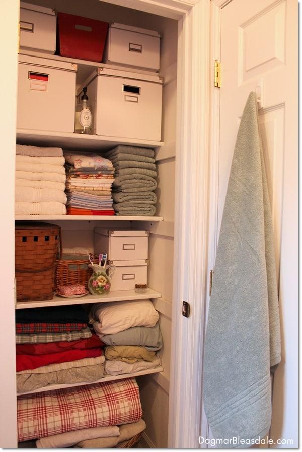 cottage bathroom closet makeover