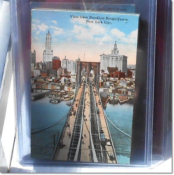 Vintage NYC Postcard. DagmarBleasdale.com