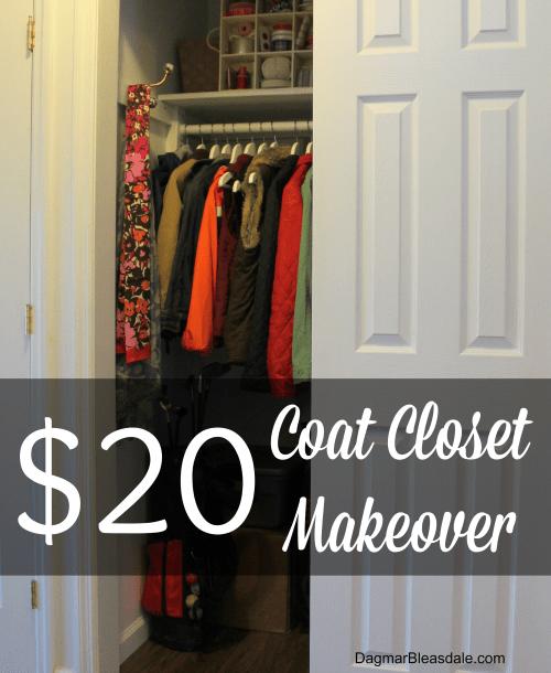 $20 coat closet makeover DagmarBleasdale.comDagmarBleasdale.com