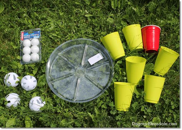 DIY Pool Party Ball Toss Game, DagmarBleasdale.com
