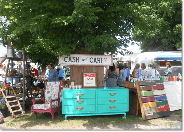 Vintage Treasures and DIY Ideas from the Country Living Fair, DagmarBleasdale.com