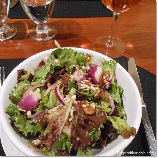 The Grain House salad, The Grain House, NJ