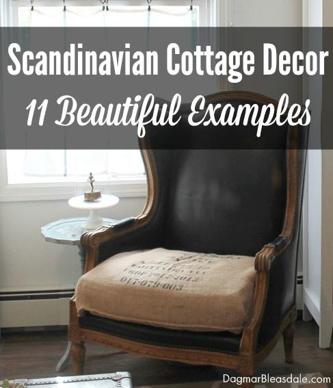 Scandinavian Cottage Decor, DagmarBleasdale.com