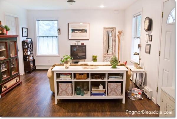 cottage living room, DagmarBleasdale.com