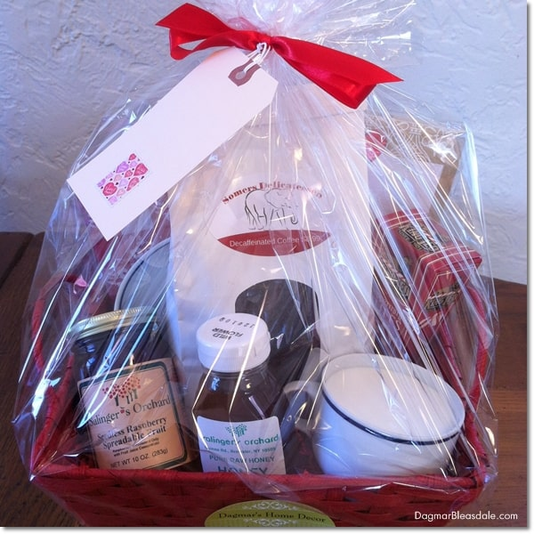 DIY gift basket, DagmarBleasdale.com