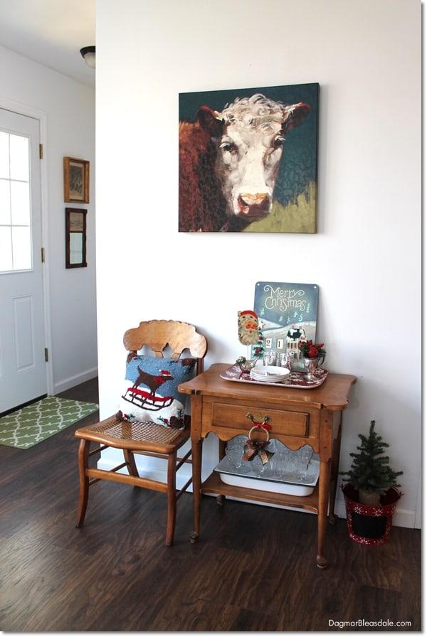 Blue Cottage Christmas Home Tour, DagmarBleasdale.com