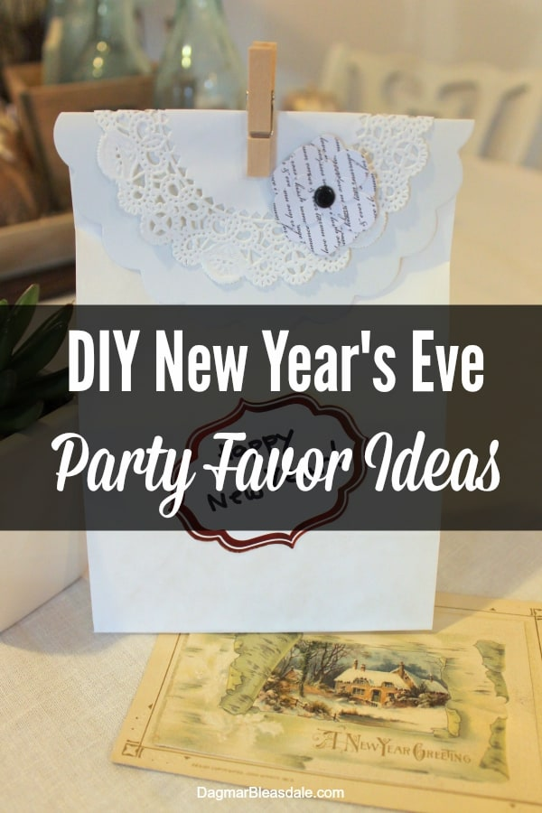 DIY New Year's Eve party favor ideas
