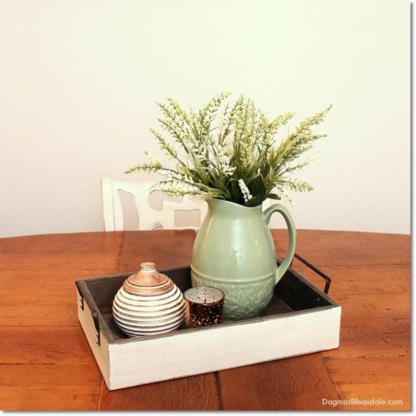 thrifty wood tray, DagmarBleasdale.com