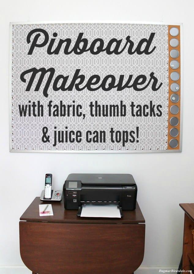pinboard makeover, DagmarBleasdale.com