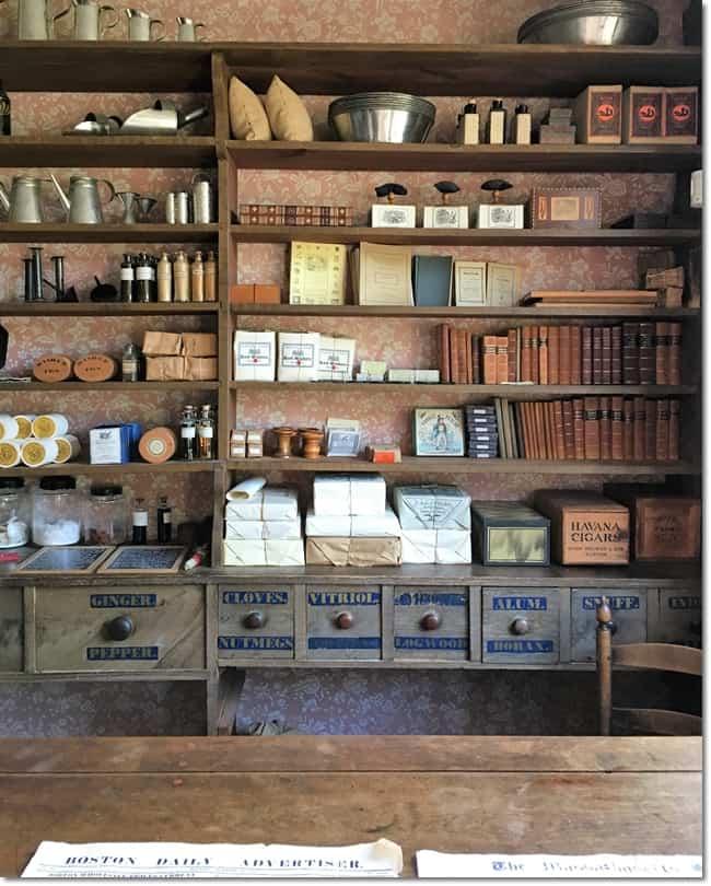 general store at the Old Sturbridge Village, Massachusetts