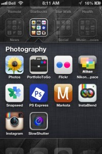 tools I use for photo impressionism projects on my iphone.