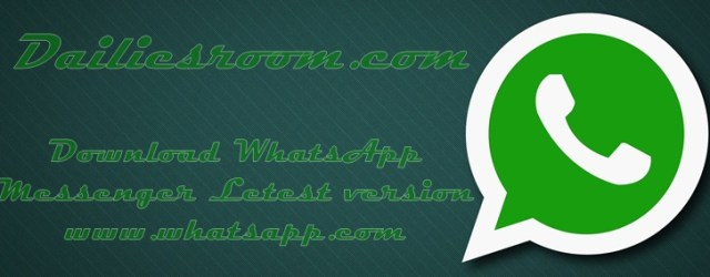 www.whatsapp.com Download New Version of Whatsapp for Android Phone