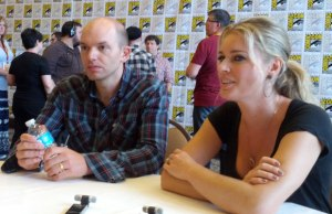 NTSF-SD-SUV-Paul-Scheer-and-Rebecca-Romijin-at-Comic-Con