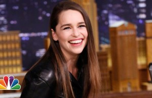 Emilia Clarke Tells Jimmy Fallon Her 'Game of Thrones' Audition Story