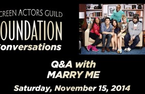 SAG Foundation Conversation with the Cast of NBC's 'Marry Me'