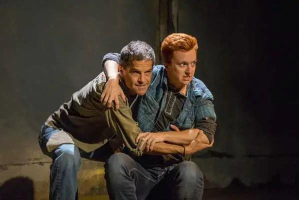 Jeffrey Jones & Rae K. Hendersen in Moxie's 'Orange Julius.' Photo by Daren Scott.