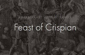 Feast of Crispian Shakespeare Classes for Veterans